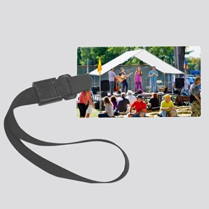 Musicians And Performers 3 Large Luggage Tag