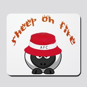 Sheep On Fire Mousepad