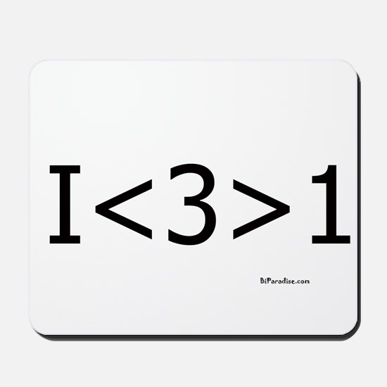 I love more than one Mousepad