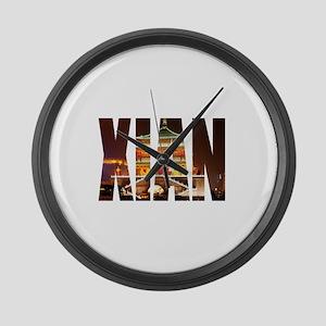 Xian Large Wall Clock
