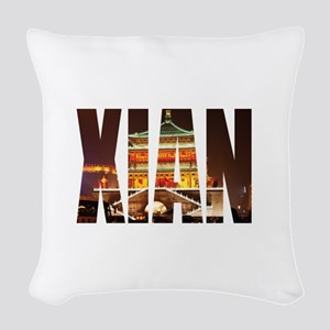Xian Woven Throw Pillow