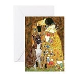 The Kiss & Boxer Greeting Cards (Pk of 10)