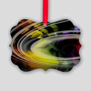 Abstract Art Picture Ornament
