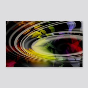 Abstract Art 3'x5' Area Rug