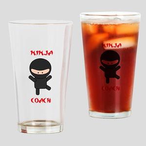 Ninja Coach Drinking Glass