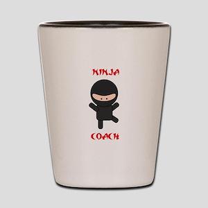Ninja Coach Shot Glass