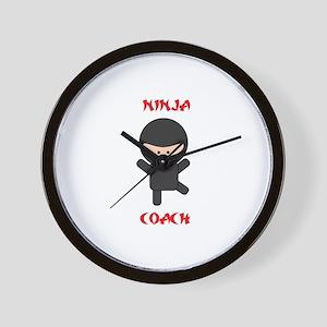 Ninja Coach Wall Clock