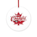 Canada 2014 Ornament (Round)