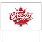 Canada 2014 Yard Sign