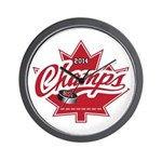 Canada 2014 Wall Clock