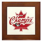 Canada 2014 Framed Tile