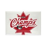 Canada 2014 Rectangle Magnet (100 pack)