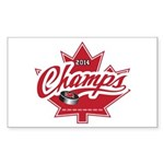 Canada 2014 Sticker (Rectangle)