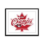 Canada 2014 Framed Panel Print