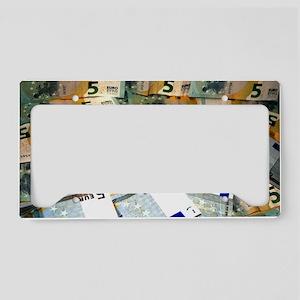 Money License Plate Holder