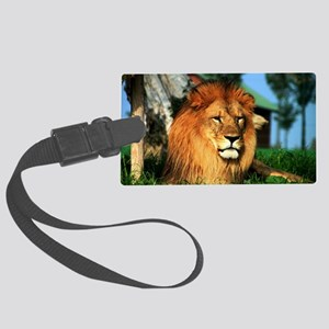 Lion Large Luggage Tag