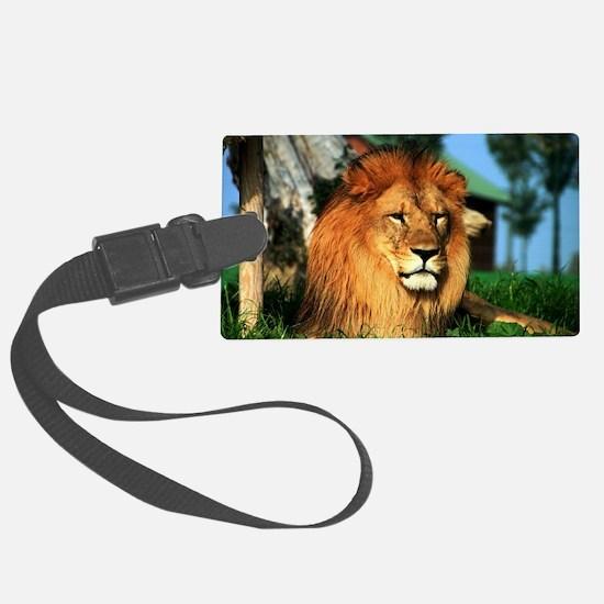 Lion Large Luggage Tag