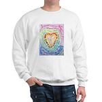 Rainbow Heart Cancer Sweatshirt