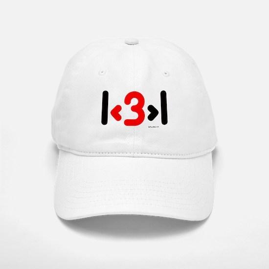 I love more than one (cute wi Baseball Baseball Cap