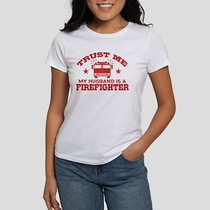 Trust Me My Husband Women's Classic White T-Shirt