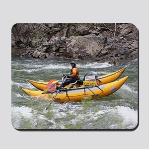 Raft, Animas River, Colorado, USA Mousepad
