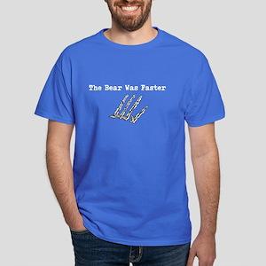 The Bear Was Faster Men'S Dark Dark Dark T-Shirt