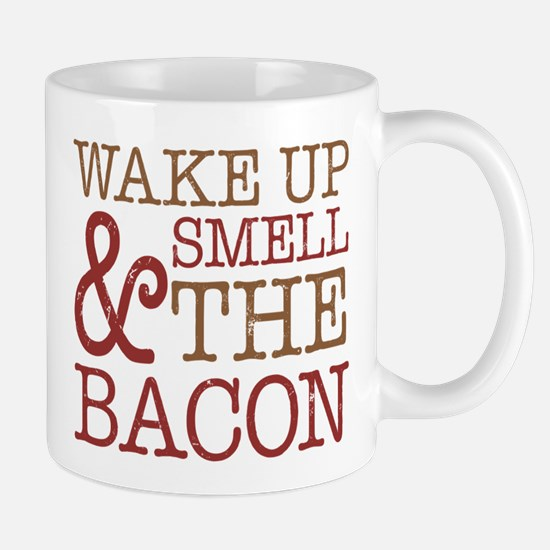 Wake Up Smell Bacon Mug