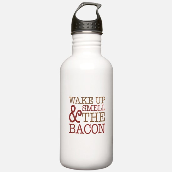 Wake Up Smell Bacon Water Bottle