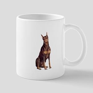 Red Doberman #1 Mug