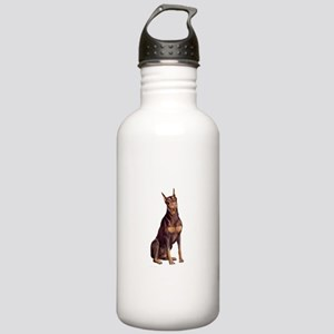 Red Doberman #1 Stainless Water Bottle 1.0L