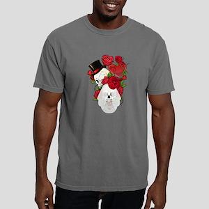 Skulls and Roses Bride G Mens Comfort Colors Shirt