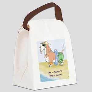 Tourist Norman Canvas Lunch Bag