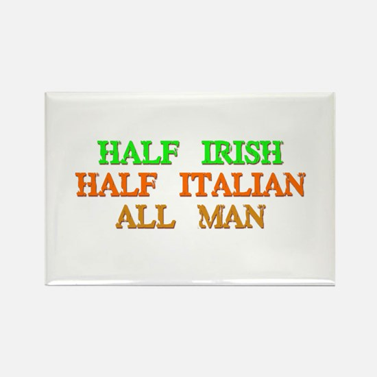 half Irish, half Italian Magnets