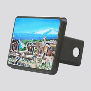 The Greek Theater  Ruins Rectangular Hitch Cover