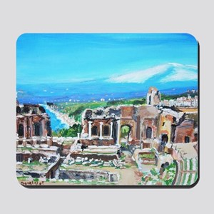 The Greek Theater  Ruins Mousepad
