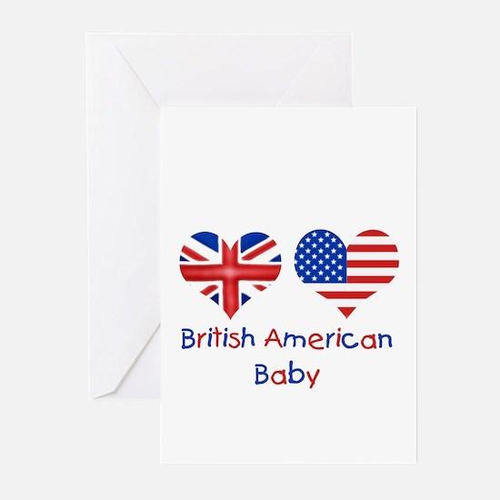 British American Baby Greeting Cards (Pk of 10