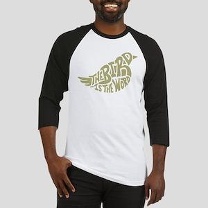 The Bird is the Word (light green) Baseball Jersey