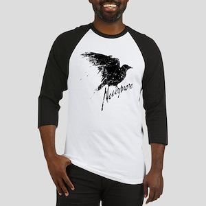 Nevermore Raven Baseball Jersey
