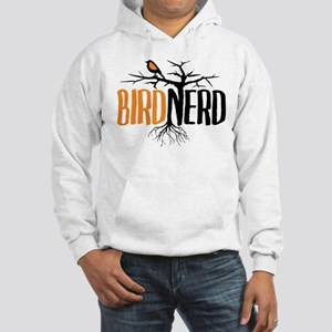 Bird Nerd (Black and Orange) Hoodie