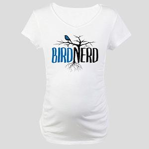 Bird Nerd Maternity T-Shirt