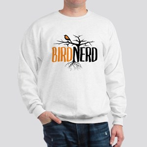 Bird Nerd (Black and Orange) Sweatshirt