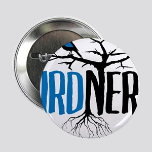 "Bird Nerd 2.25"" Button"