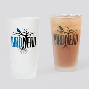 Bird Nerd Drinking Glass