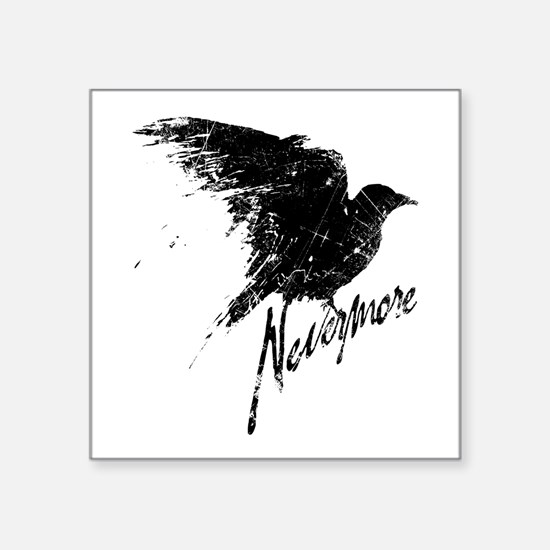Nevermore Raven Sticker