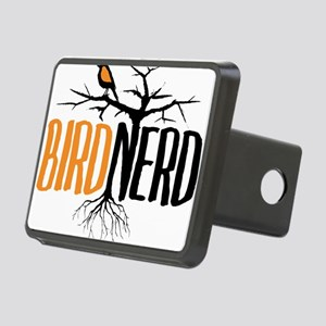 Bird Nerd (Black and Orange) Hitch Cover