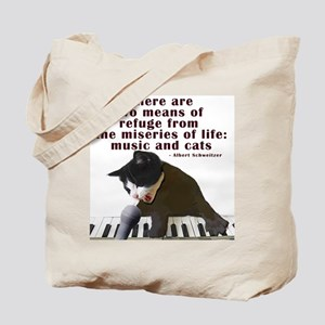 cats-and-music Tote Bag