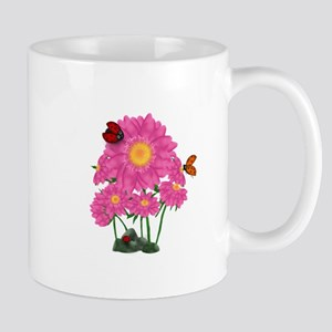 Ladybugs Daisy Garden Mug