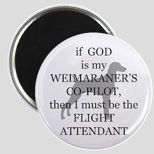Weim Attendant Magnet