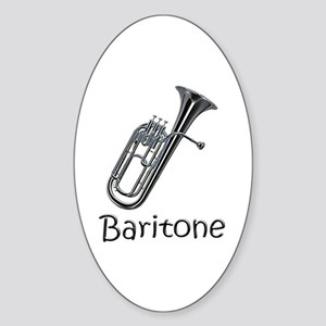 Baritone Oval Sticker