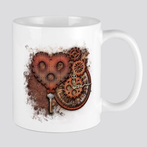 Key of Time and Love Mugs